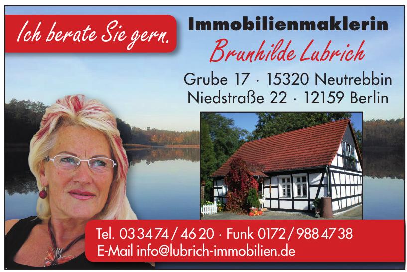 Immobilienmaklerin Brunhilde Lubrich
