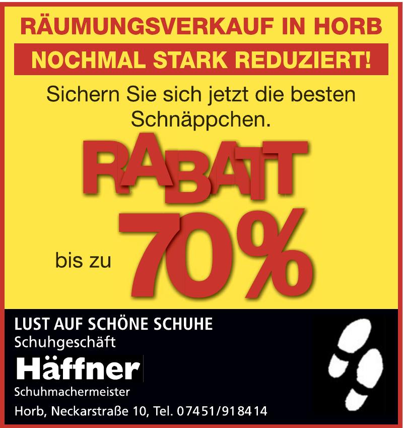 Häffner Schuhmachermeister