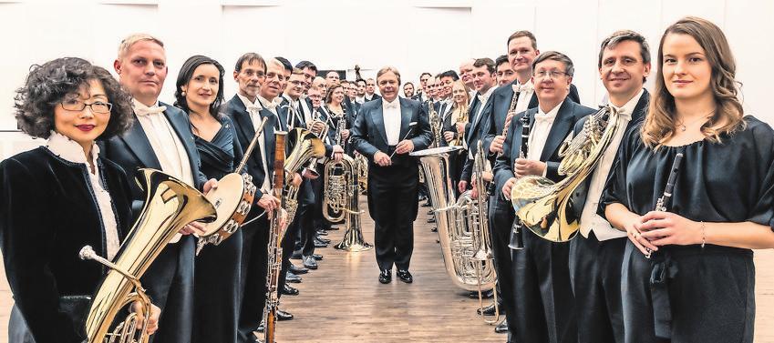 Sächsischen Bläserphilharmonie Foto: Christian Kern