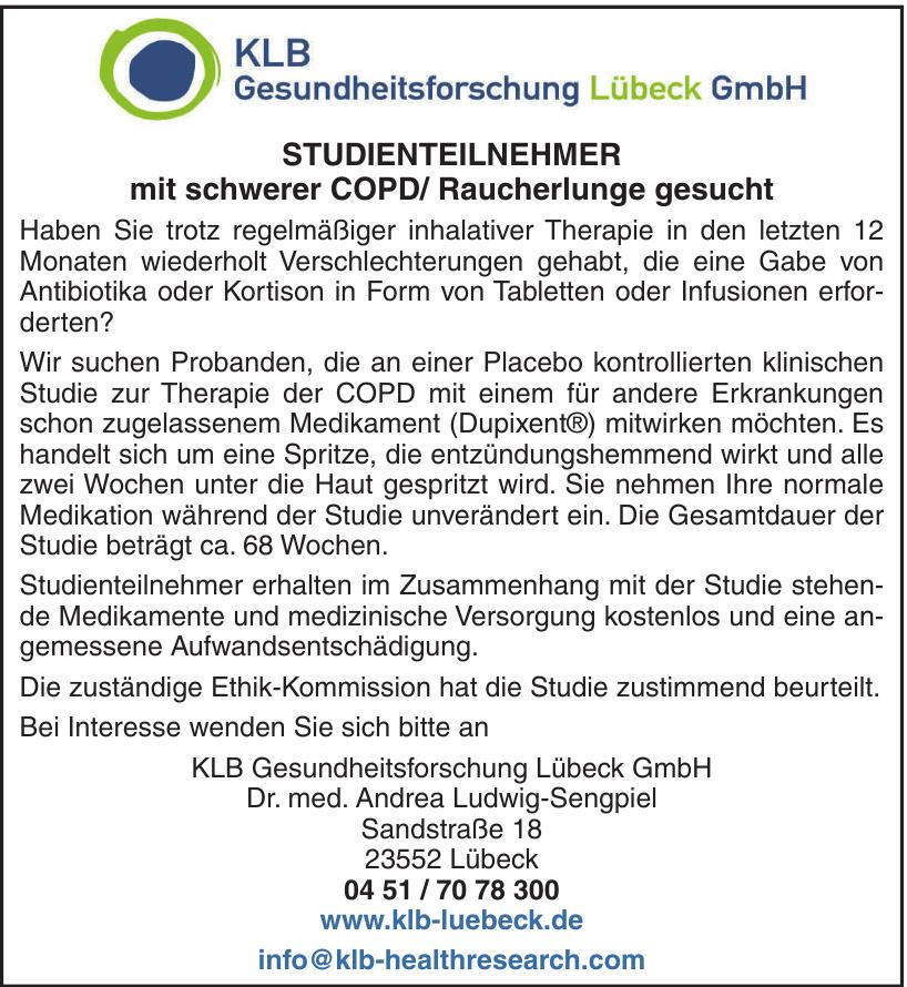 KLB Gesundheitsforschung Lübeck GmbH