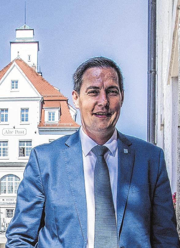 Dieter Henle, Oberbürgermeister in Giengen Fotos: Rudi Penk, Privat