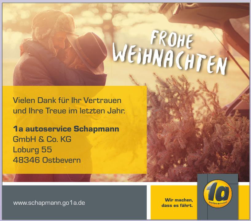 1a autoservice Schapmann GmbH & Co. KG