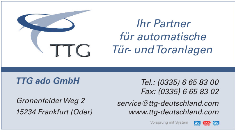 TTG ado GmbH