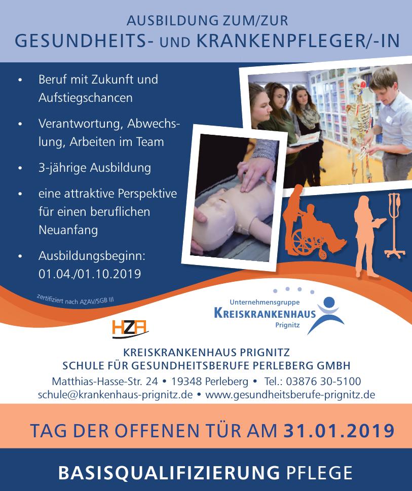Kreiskankenhaus Prignitz - Schule für Gesundheitsberufe Perleberg GmbH