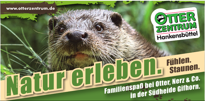 Otter Zentrum - Familienspaß bei Otter, Nerz & Co