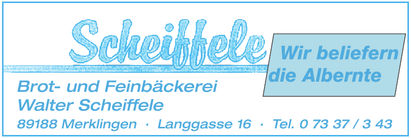 Scheiffele
