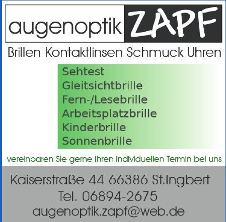 Augenoptik Zapf
