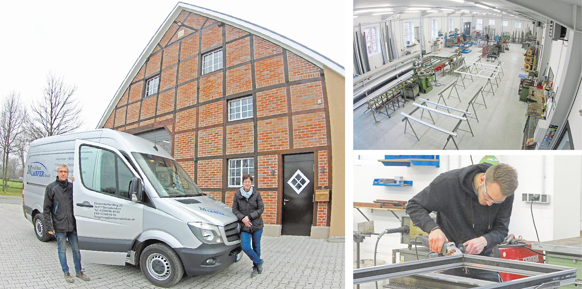 Viel Arbeit und Herzblut haben Norbert und Marion Fögeling in Umbau und Kernsanierung des alten Hofgebäudes investiert. Entstanden ist eine lichtdurchflutete Produktionshalle, die den Beschäftigten optimale Arbeitsbedingungen bietet. Fotos (4): Dietmar Jeschke