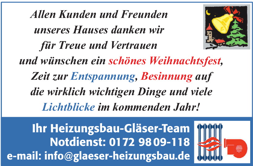 Heizungsbau-Gläser-Team