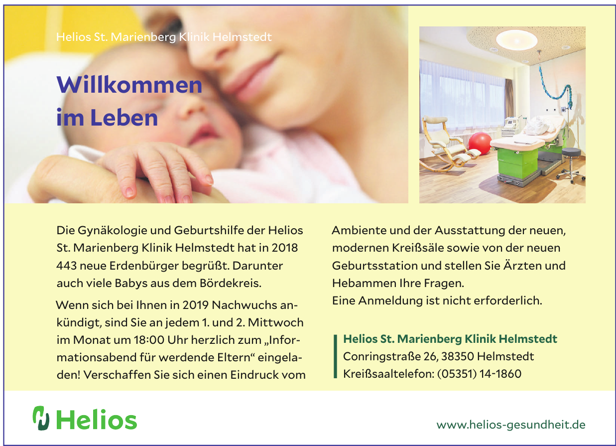 Helios St. Marienberg Klinik Helmstedt