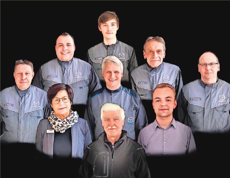 Das Team vom Autohaus Rohde.
