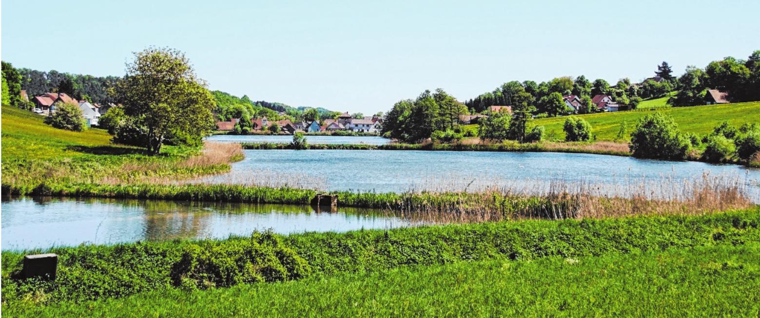 Die herrliche Landschaft lädt zu ausgedehnten Spaziergängen ein. FOTO: SABINE WEINBEER