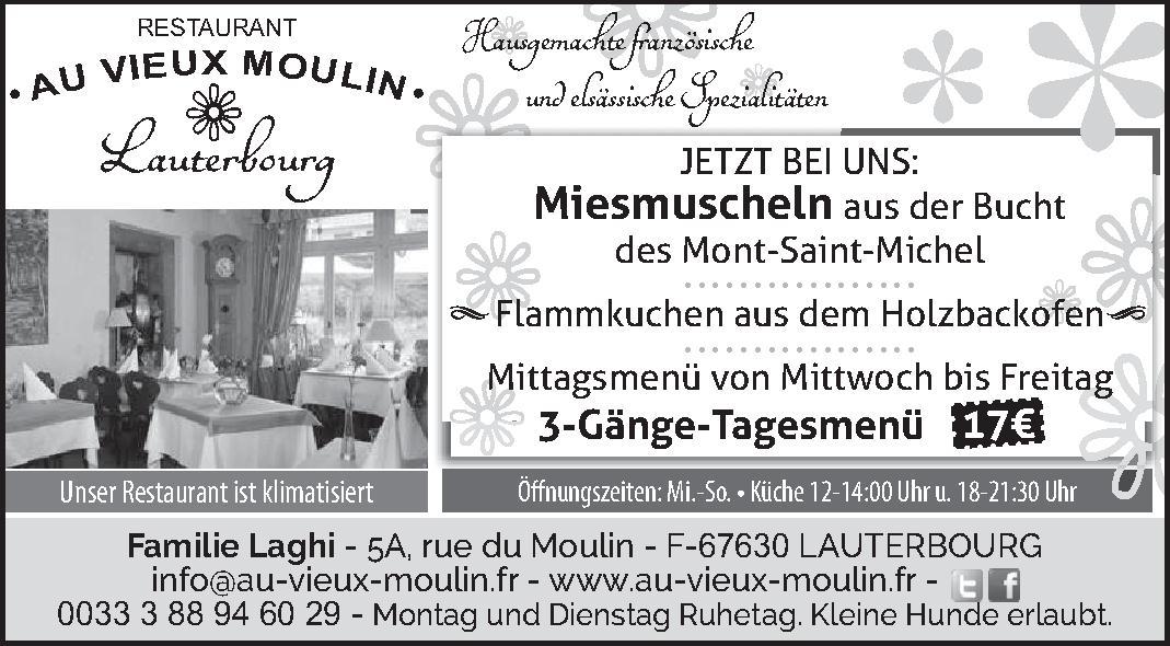 Le Restaurant Au Vieux Moulin