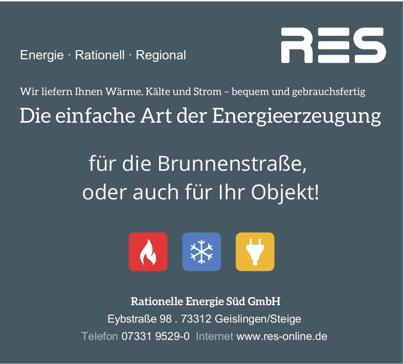 Rationelle Energie Süd GmbH