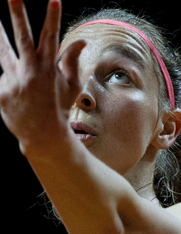 Tamara Korpatsch, neue Rekordhalterin auf der WTA Tour. Foto Jürgen Hasenkopf