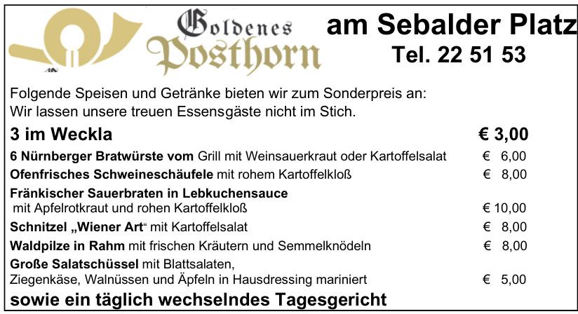 Goldenes Posthorn