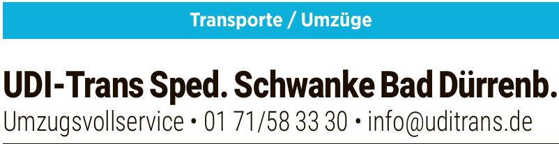 UDI-Trans Sped.