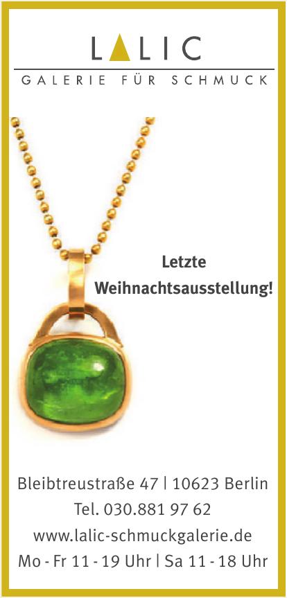 Lalic Galerie für Schmuck