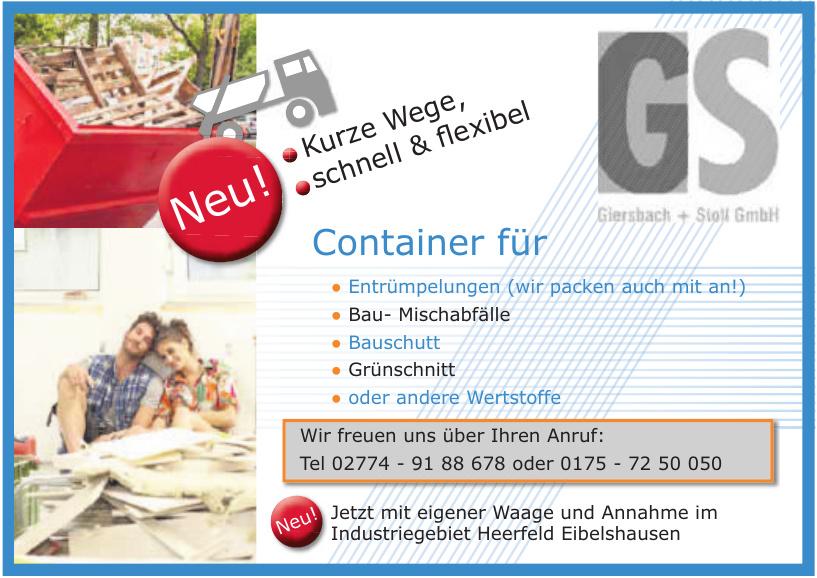 Giersbach + Stoll GmbH