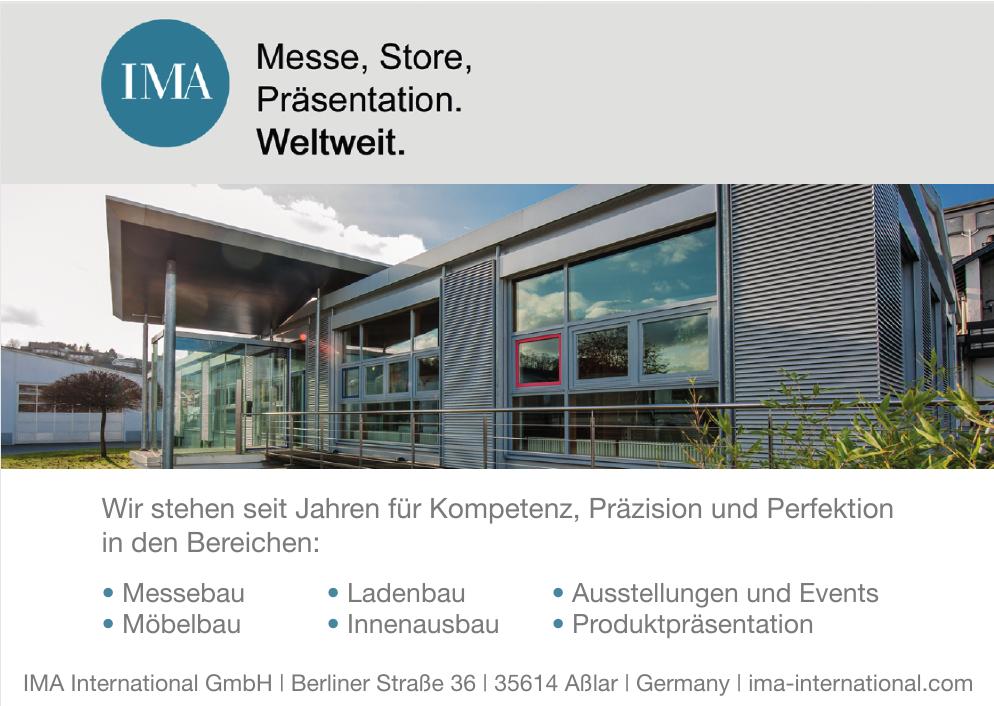 IMA International GmbH