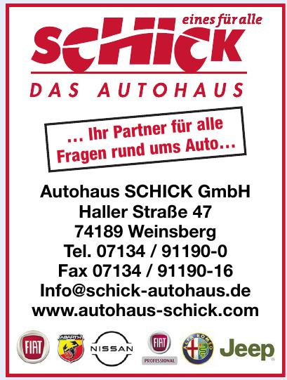 Autohaus Schick GmbH