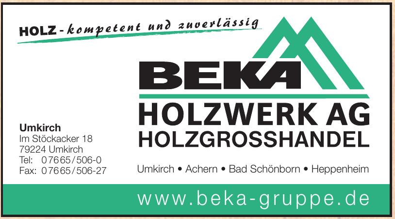 Beka Holzwerk AG