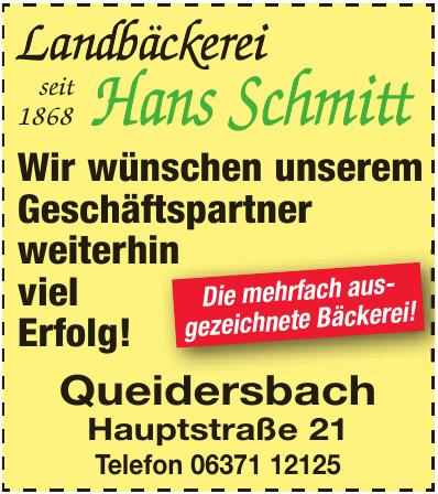 Landbäckerei Hans Schmitt