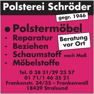 Polsterei Schröder