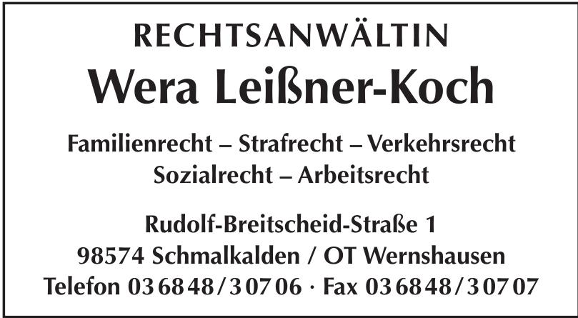 Rechtsanweltin Wera Leißner-Koch