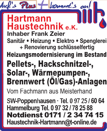 Hartmann Haustechnik e.K.
