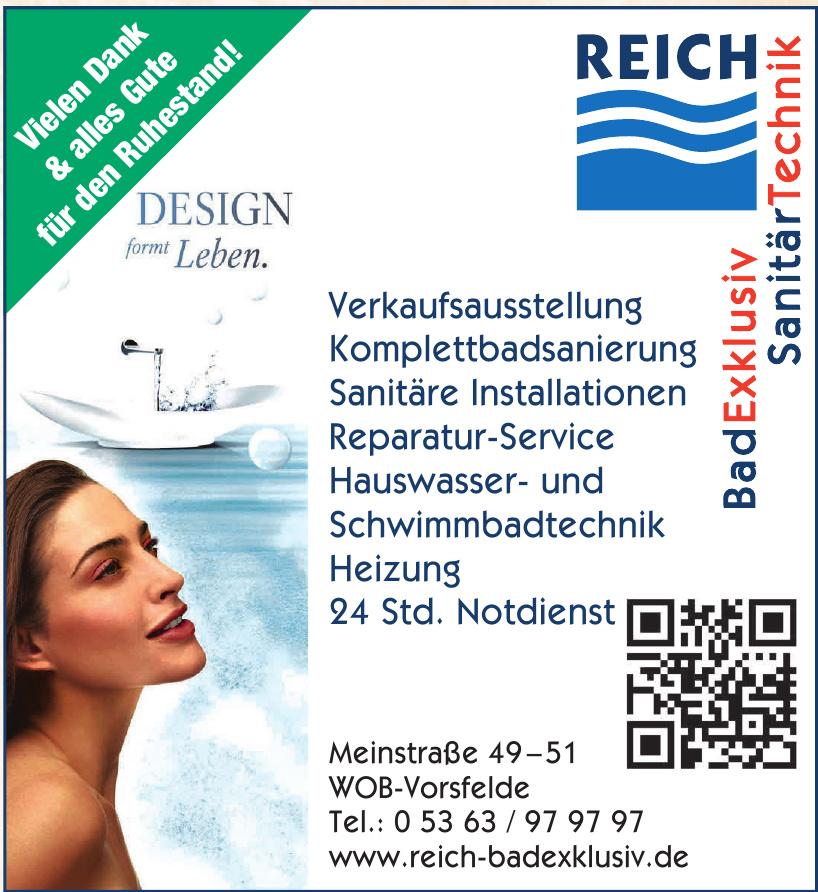Reich Bad Exklusive Sanitär Technik