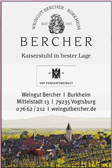 Weingut Bercher Burkheim