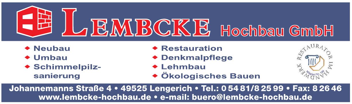Lembcke Hochbau GmbH