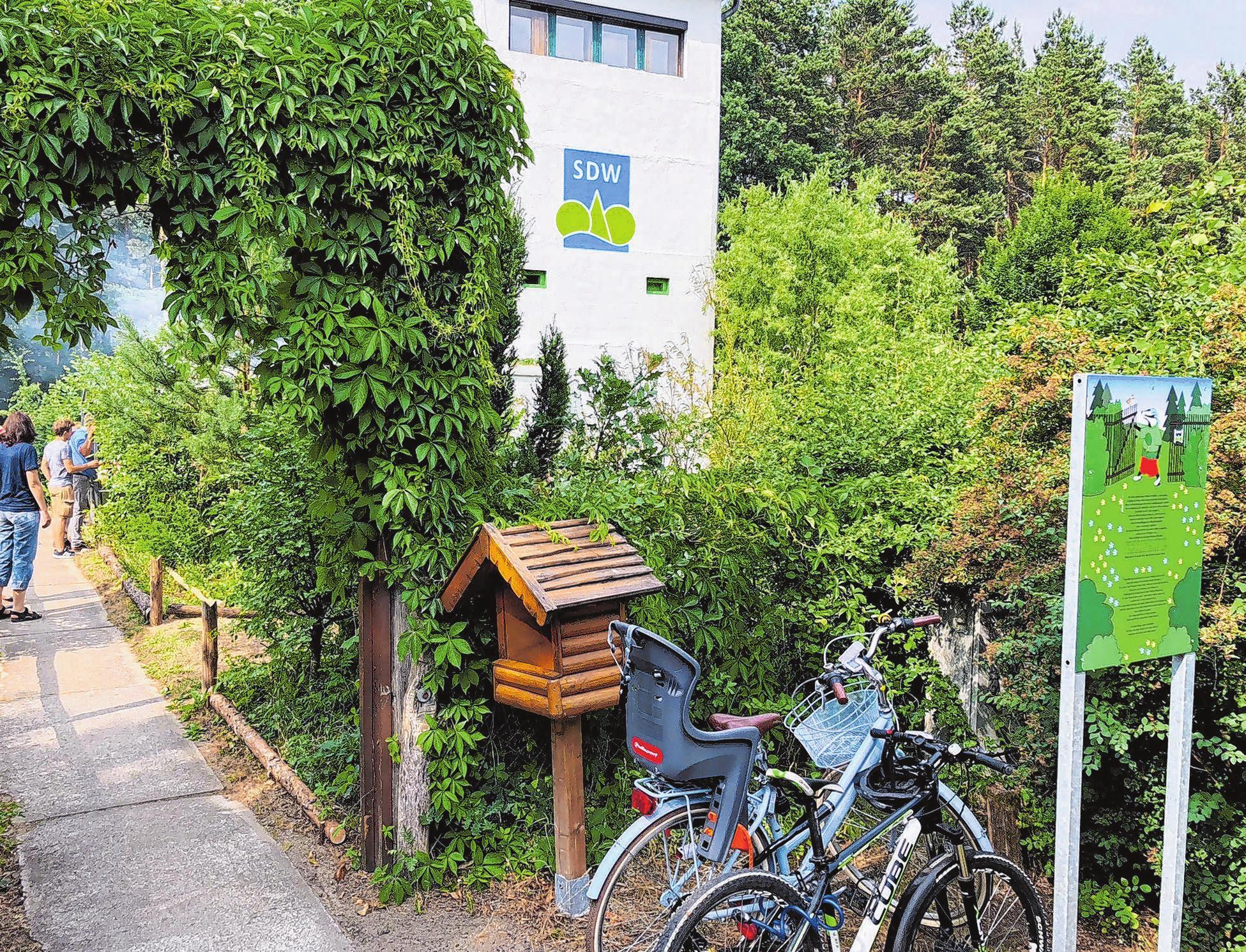 Natur trifft Geschichte: Im Naturschutzturm Bergfelde wird am 15. Juni ein Sommerfest gefeiert. Foto: Hartung