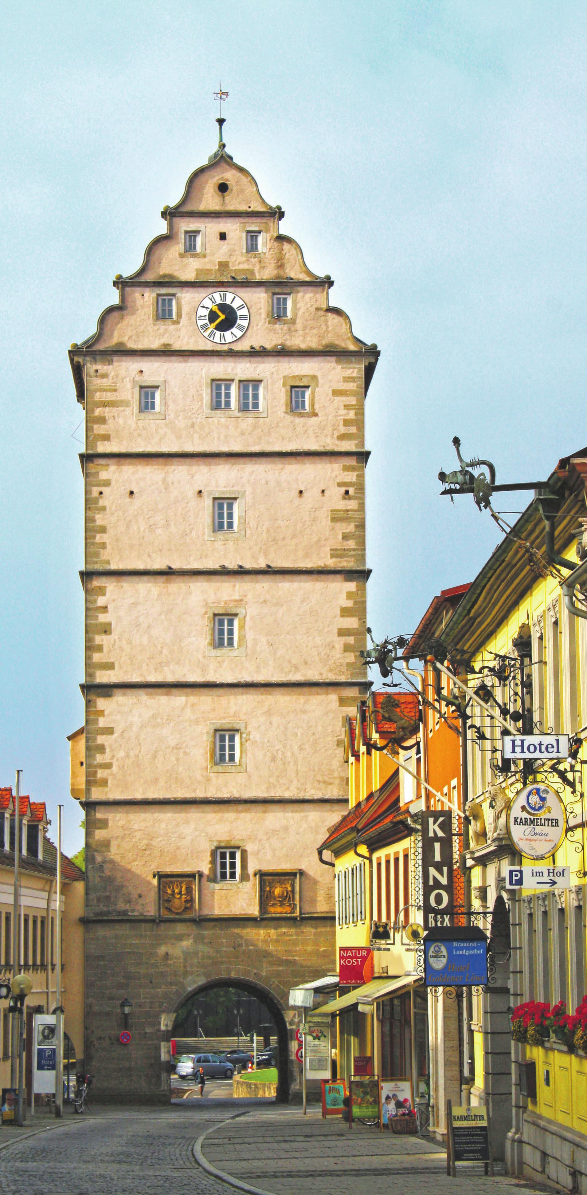 Das Hohntor, Wahrzeichen der Stadt Foto: Jessica Rohrbach