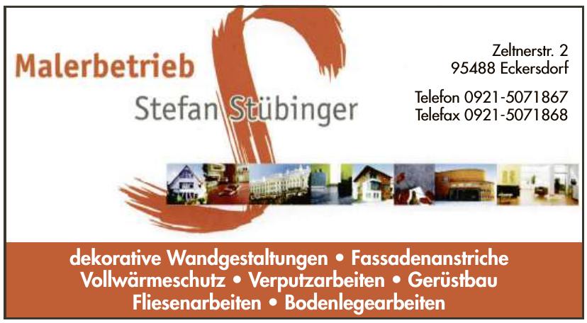 Malerbetrieb Stefan Stübinger