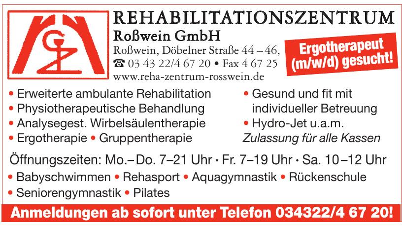 Rehabilitationszentrum Roßwein Gmbh