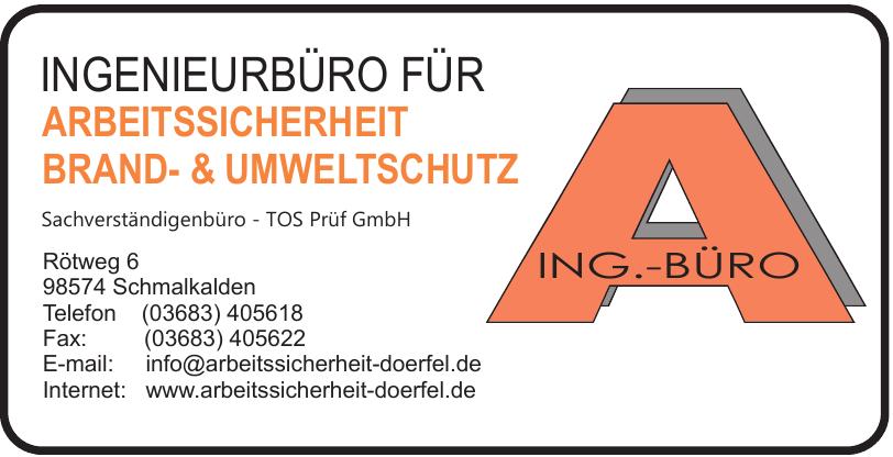 Sachverständigenbüro - TOS Prüf GmbH