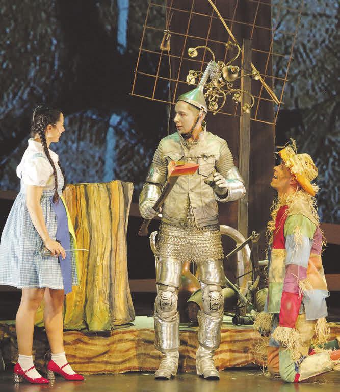 """Das Scharoun Theater Wolfsburg zeigt das Weihnachtsmärchen """"Der Zauberer von Oz"""". (c) Michael Kersten"""