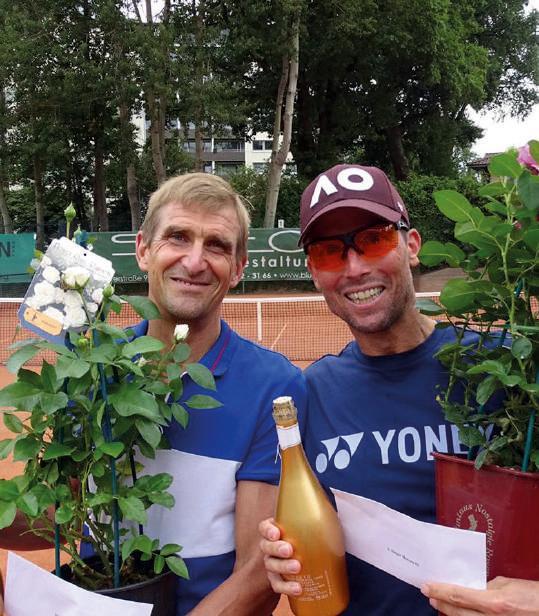 Herren 55: v.l. Klaus Ehlers und Thomas Lierhaus