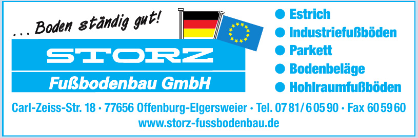 Storz Fußbodenbau GmbH