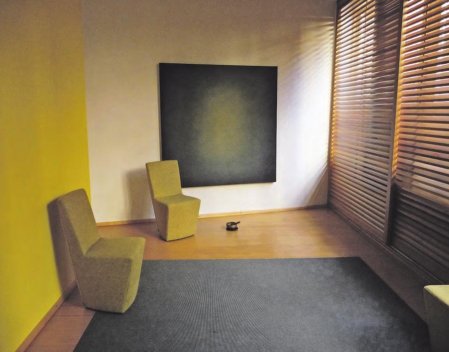 In den Raum der Stille kann man sich jederzeit zurückziehen, um für sich zu sein Fotos: Chan Sidki-Lundius