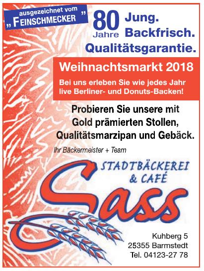 Sass Stadtbäckerei & Café