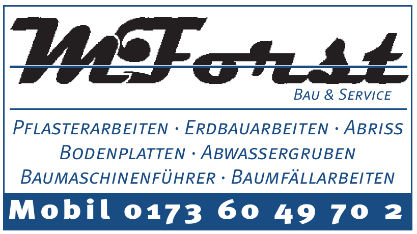 M. Forst Bau & Service