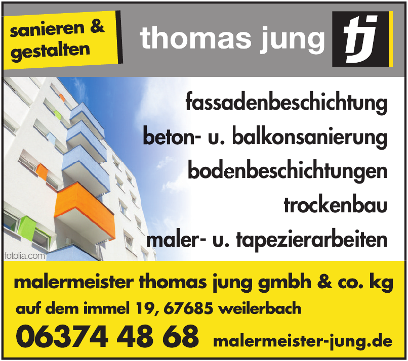 Malermeister Thomas Jung GmbH & Co. KG