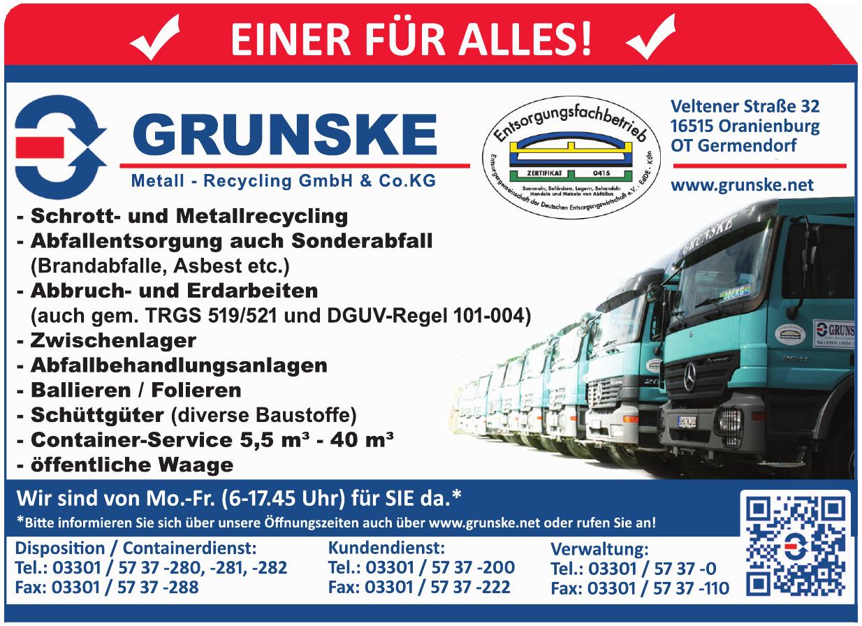 Grunske Metall - Recycling GmbH & Co. KG