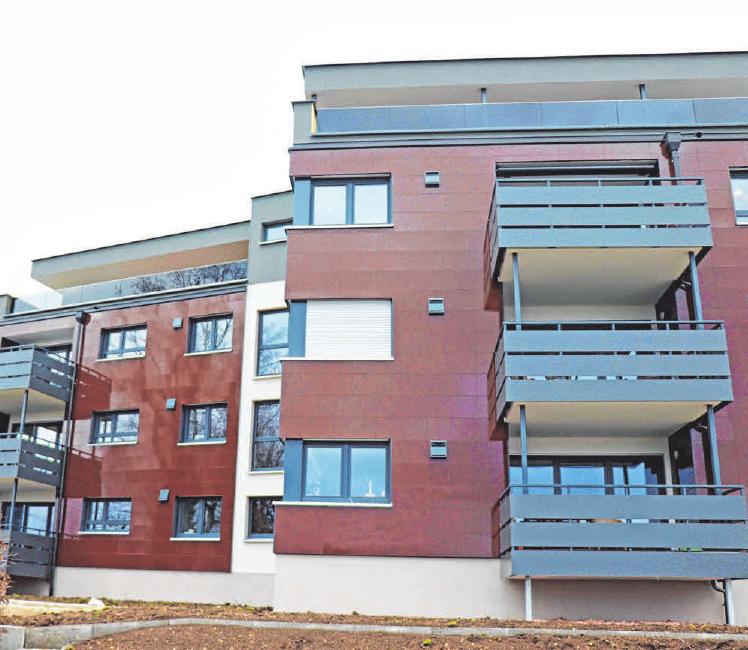 Jede Wohneinheit verfügt über einen eigenen Balkon.