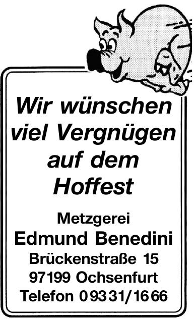 Metzgerie Edmund Benedini