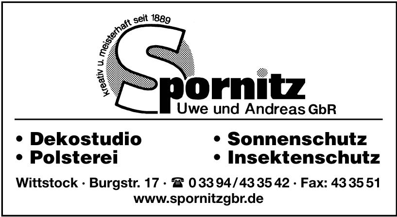 Spornitz Uwe und Andreas GbR