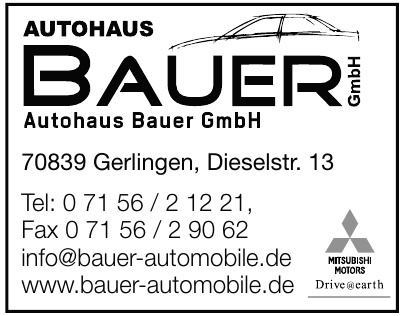 Autohaus Bauer GmbH